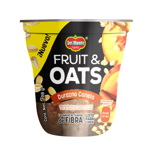 Fruit & Oats Durazno Canela 198 g
