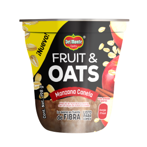 Fruit & Oats Manzana Canela 198 g