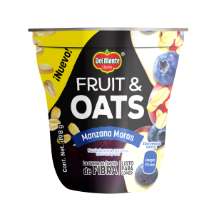 Fruit & Oats Manzana Moras 198 g
