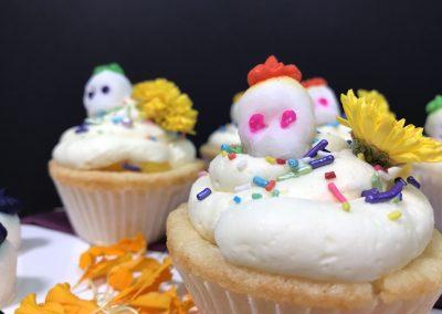 Cupcakes Día de Muertos de Mango Del Monte Frutas®