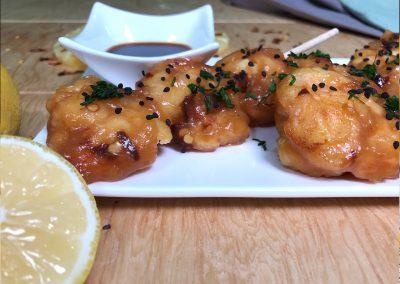 Camarones Agridulces con chile Del Monte Frutas®