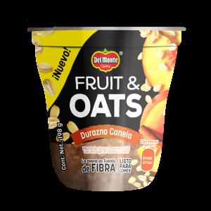 Fruit & Oats Durazno Canela 198 g