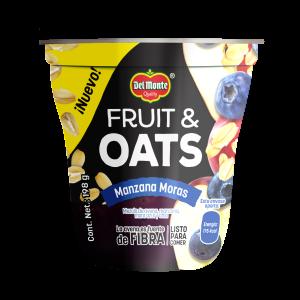 Fruit & Oats Manzana Moras 198 g