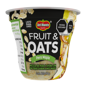 Fruit & Oats Pera Maple 198 g