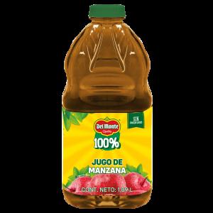 Del Monte 100% · Jugo de Manzana 1,89 L